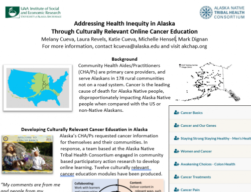 Cueva Provides Evaluation Findings From Online Cancer Education Course