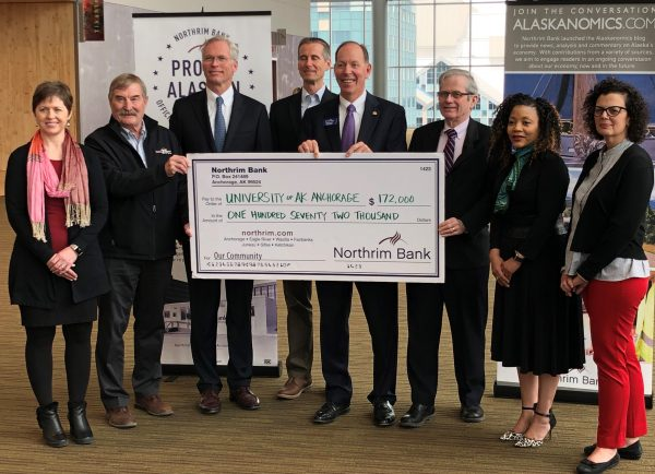 Northrim Bank donates $172,000 to ISER for economic research