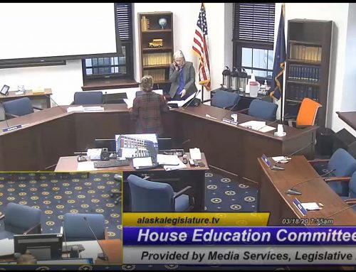 CAEPR researchers testify about teacher turnover to the Alaska Legislature