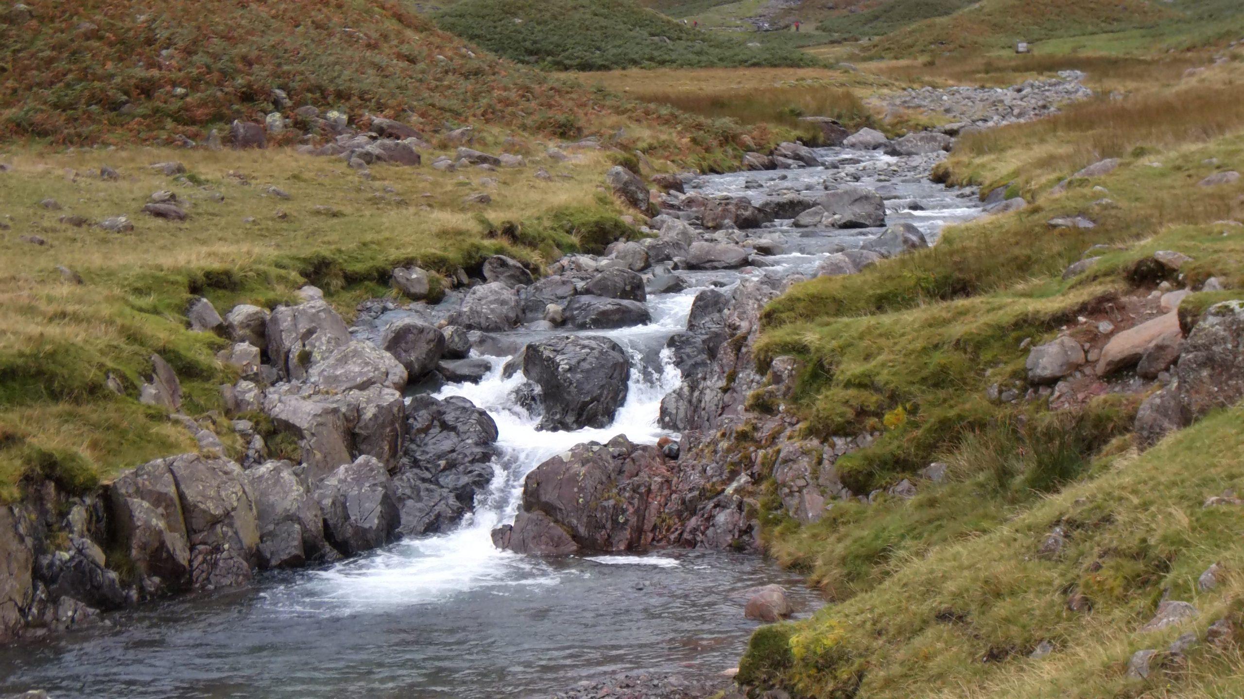 an upland stream